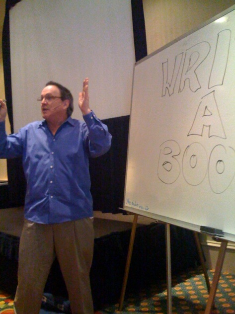 Ken Davis teaching at the Professional Communicator's Summit