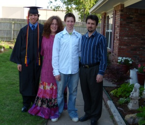 My Good Looking Family (Charlie, me, Dillon, and Jeff)