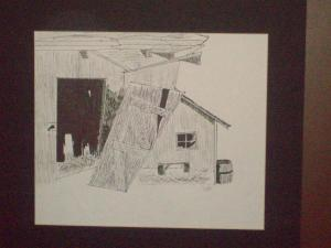 Dillon's Pen and Ink Drawing for Art