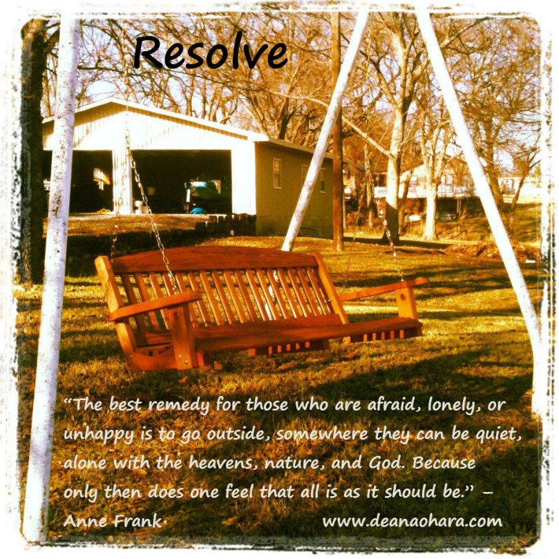 resolve anne frank outdoors