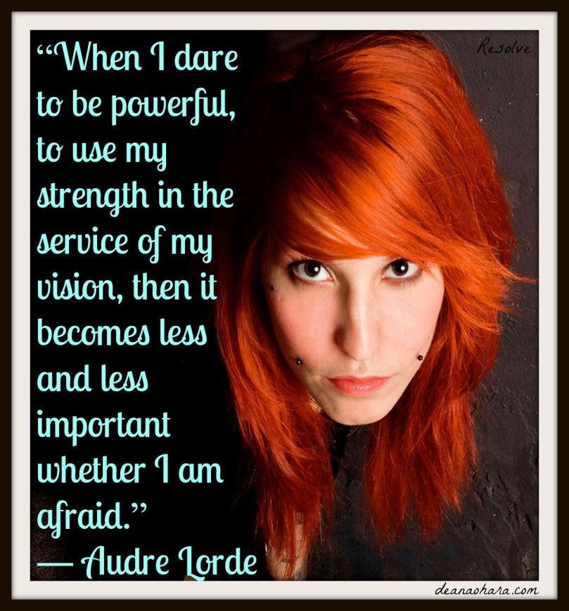 resolve - when I dare