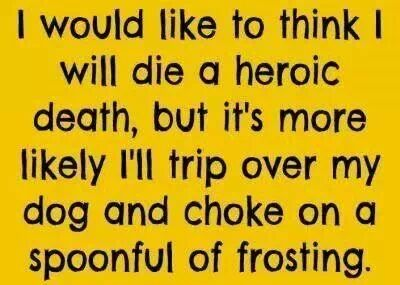 Friday Funny: Heroic Death
