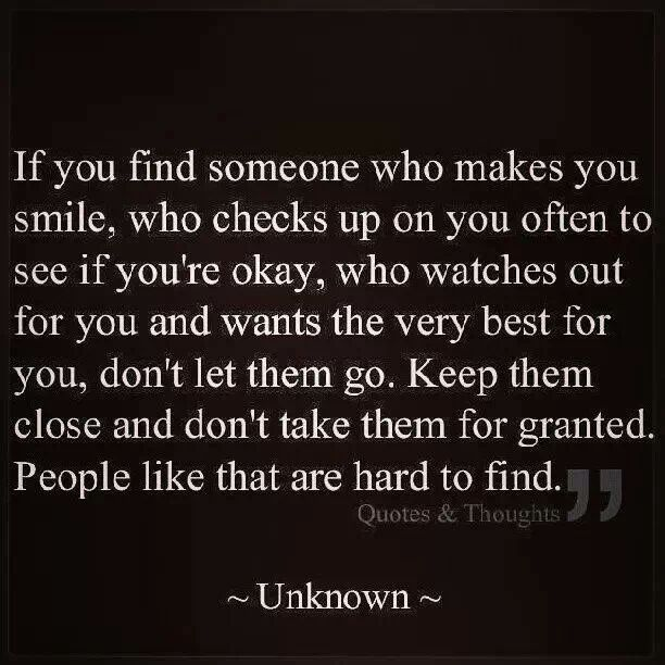 If you find someone