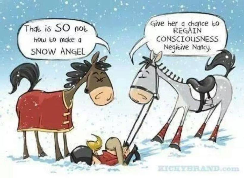 Friday Funny: Snow Angels