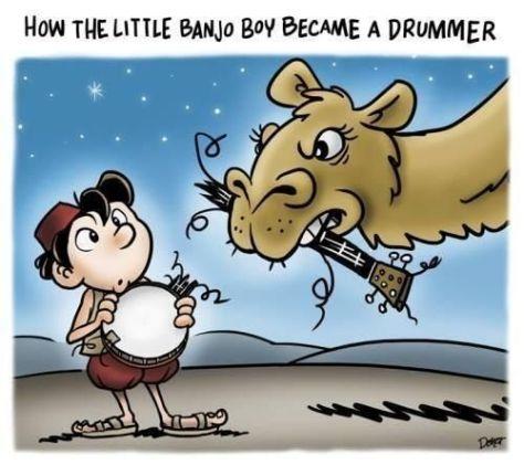 Friday Funny: Little Banjo Boy