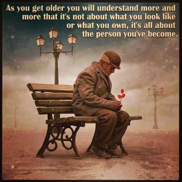 As You Get Older