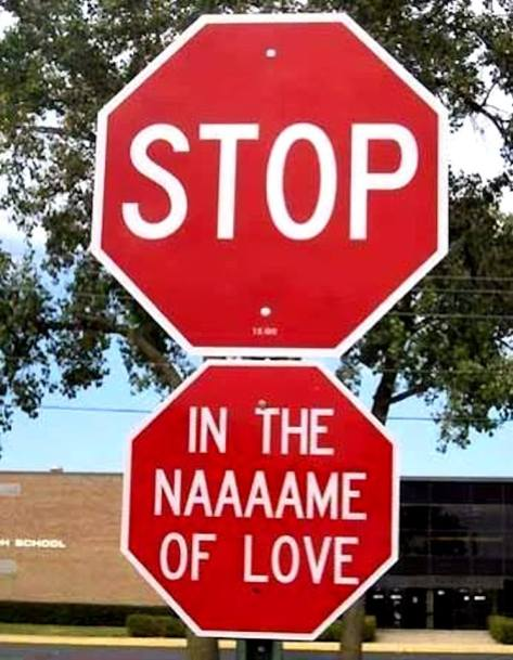 Friday Funny: Stop