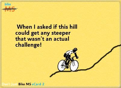 cycling hill