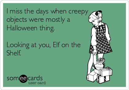 creepy elf